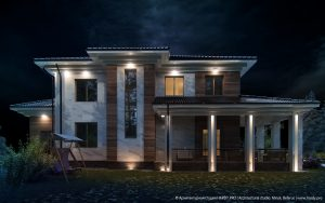 CHEREMUHA [ Проект загородного дома ]. 2016