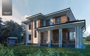 BIRD-CHERRY HOUSE [Проект загородного дома]