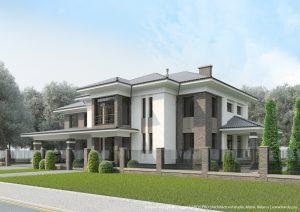 Fanipol house [проект загородного дома] 2019