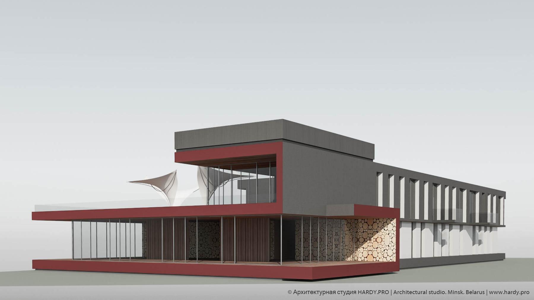 BRASVAL [ Эскизный проект гостиницы ]. 2016