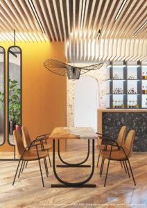FANIPOL CAFE [ Дизайн кафе ]. 2019